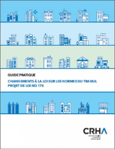 Page couveture du guide sur la LNT du CRHA